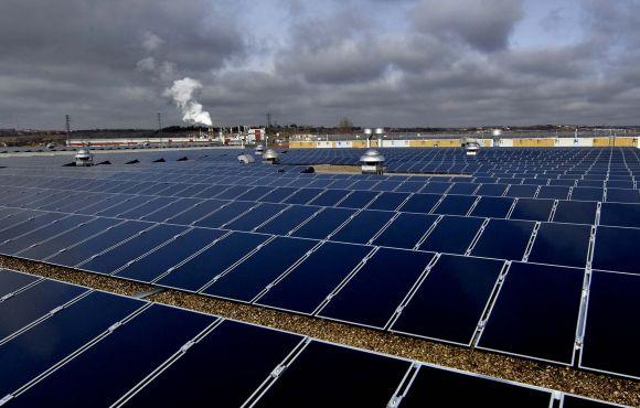 Instalación fotovoltaica de 3MW en Michelin, Valladolid.