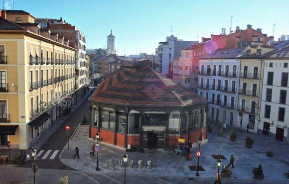 Instalación de geotermia en el Mercado del Val, Valladolid.